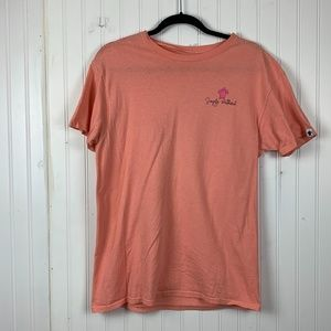 Simply Southern Pink Shirt Sleeve Tee